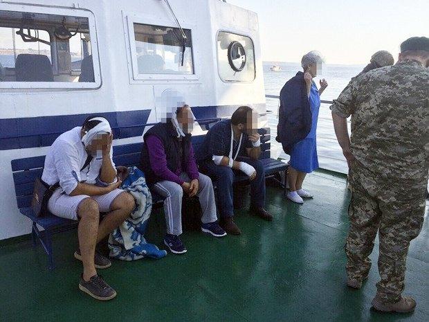 57cd36af765ff В порту «Южный» СБУ провела штурм турецкого судна, на котором произошел бунт