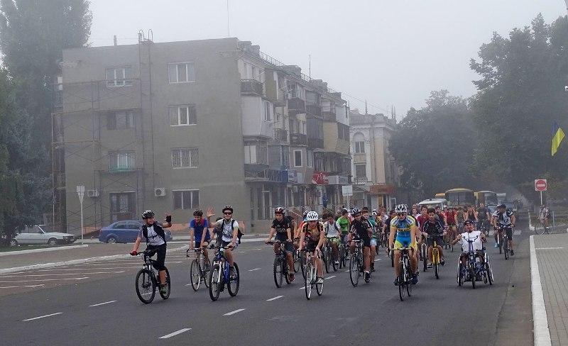8oZdsLgH9ME В Измаиле День физкультуры и спорта отметили по-велосипедному