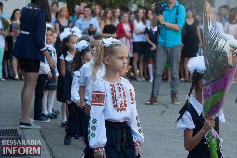 1 сентября в школах Измаила раздался первый звонок (фоторепортаж)