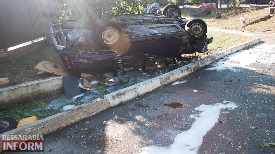 IMG_1070 ДТП в Измаиле: два перевернувшихся автомобиля в течении двух часов (фото)