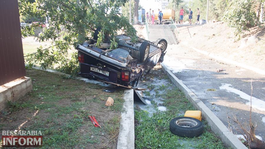 IMG_1074 ДТП в Измаиле: два перевернувшихся автомобиля в течении двух часов (фото)