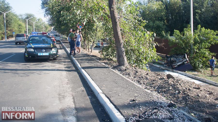 IMG_1087 ДТП в Измаиле: два перевернувшихся автомобиля в течении двух часов (фото)