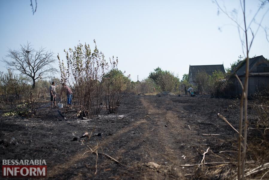 SME_3717 Измаил: последствия пожара на улице Некрасова (фото)