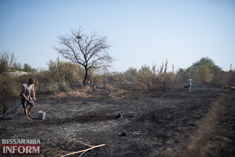 SME_3722 Измаил: последствия пожара на улице Некрасова (фото)