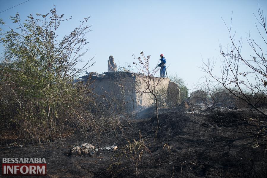 SME_3740 Измаил: последствия пожара на улице Некрасова (фото)