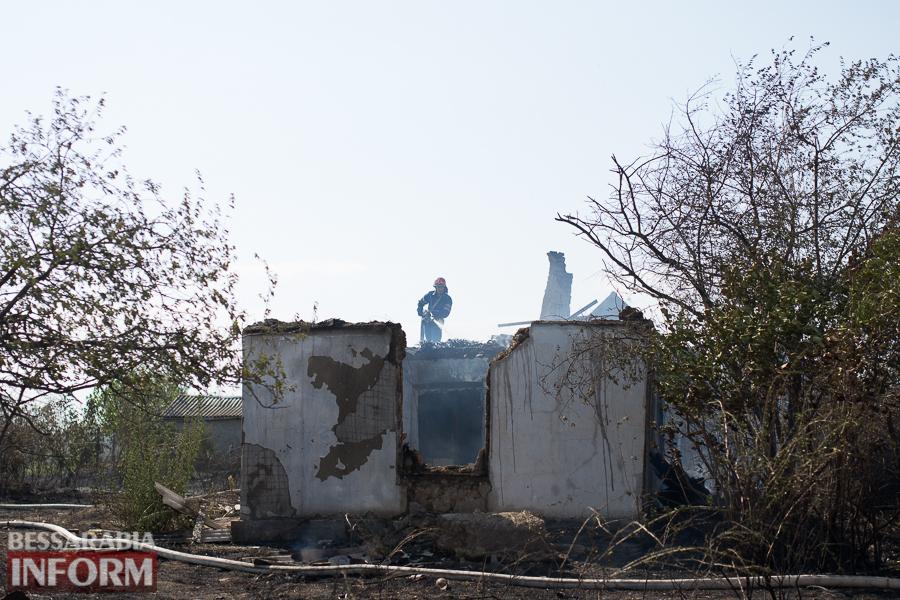 SME_3750 Измаил: последствия пожара на улице Некрасова (фото)