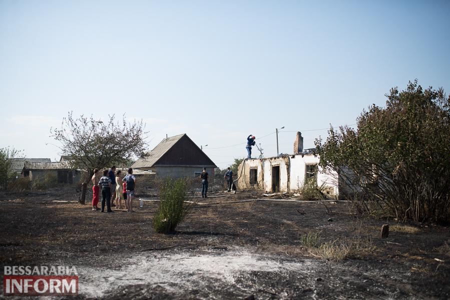 SME_3758 Измаил: последствия пожара на улице Некрасова (фото)