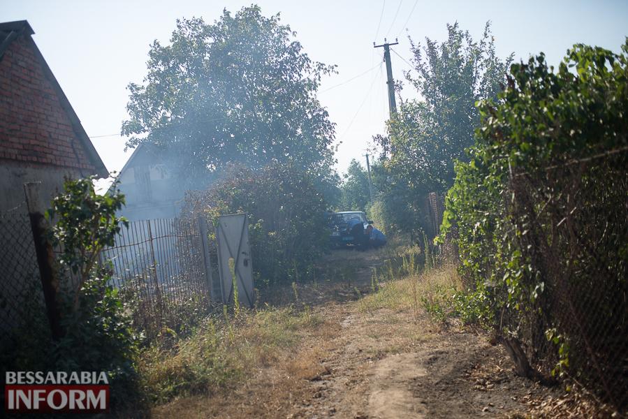 SME_3779 Измаил: последствия пожара на улице Некрасова (фото)
