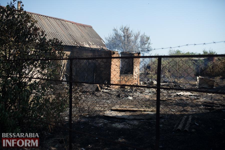 SME_3789 Измаил: последствия пожара на улице Некрасова (фото)