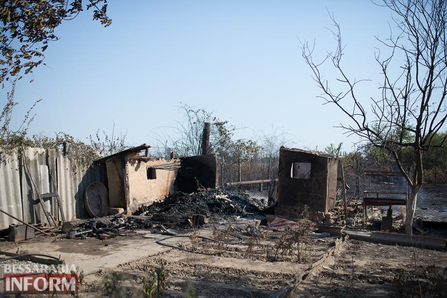 SME_3792 Измаил: последствия пожара на улице Некрасова (фото)