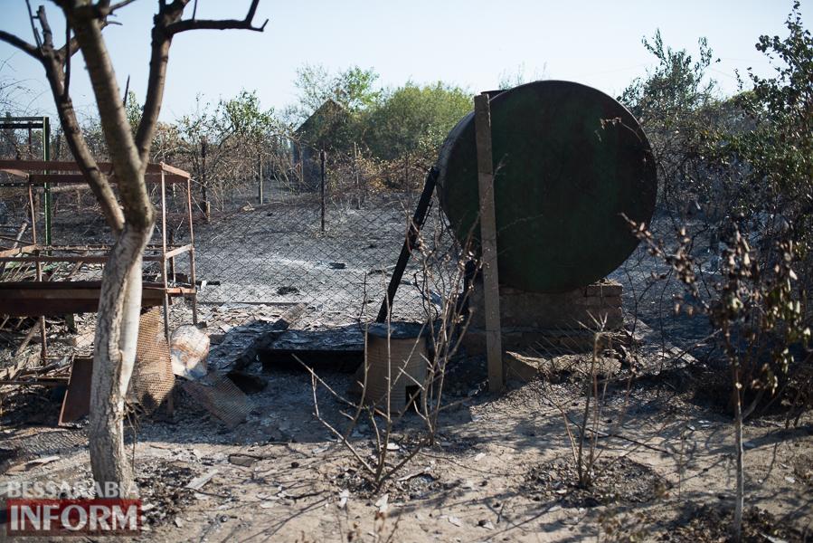 SME_3795 Измаил: последствия пожара на улице Некрасова (фото)