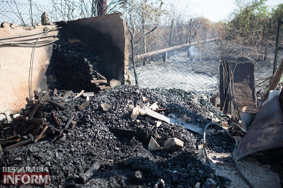 SME_3797 Измаил: последствия пожара на улице Некрасова (фото)