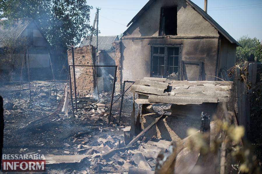 SME_3814 Измаил: последствия пожара на улице Некрасова (фото)