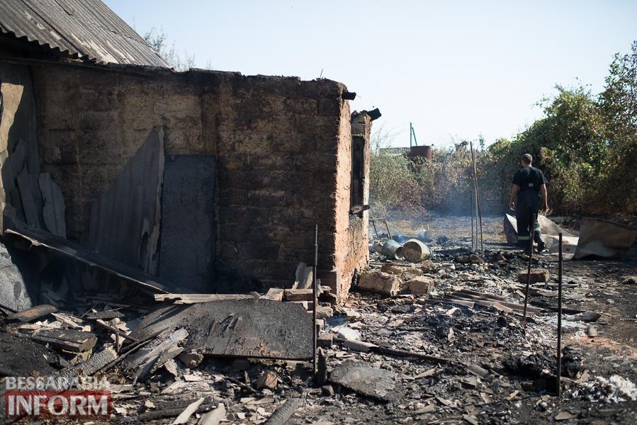 SME_3836 Измаил: последствия пожара на улице Некрасова (фото)