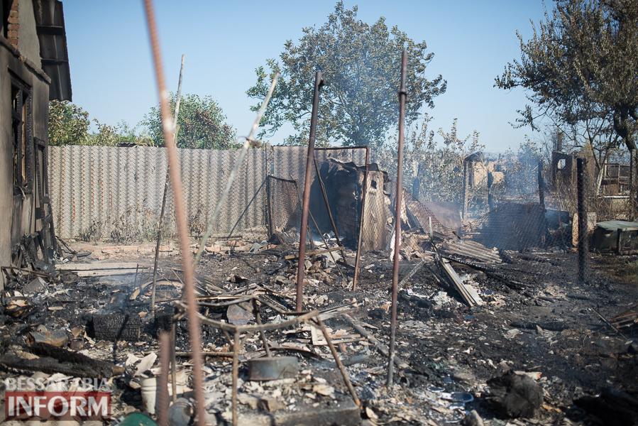 SME_3841 Измаил: последствия пожара на улице Некрасова (фото)