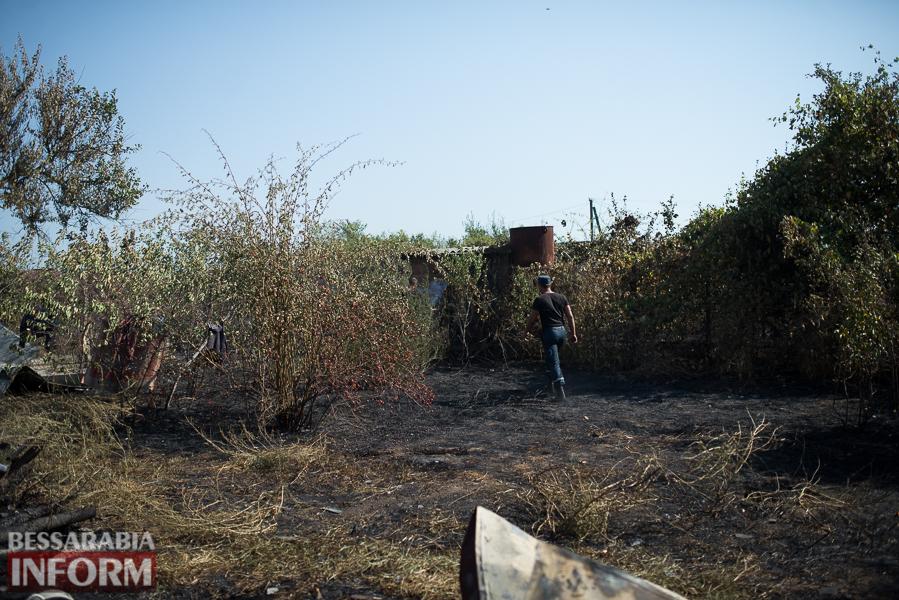 SME_3846 Измаил: последствия пожара на улице Некрасова (фото)