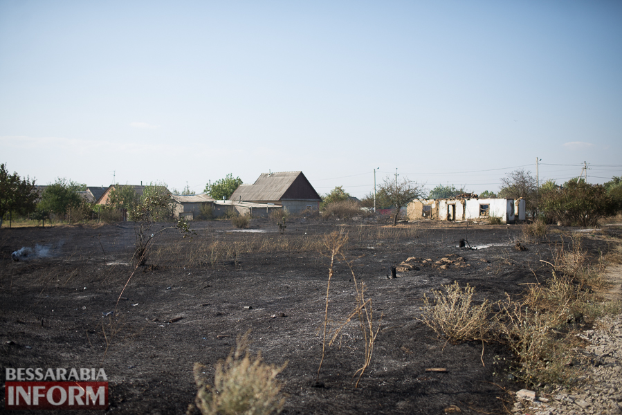SME_3876 Измаил: последствия пожара на улице Некрасова (фото)