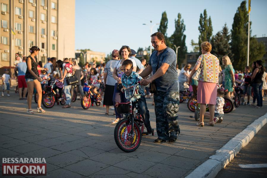 """SME_4366 Измаил: """"губернаторские"""" велосипеды - маленьким жертвам ротавируса (ФОТО)"""