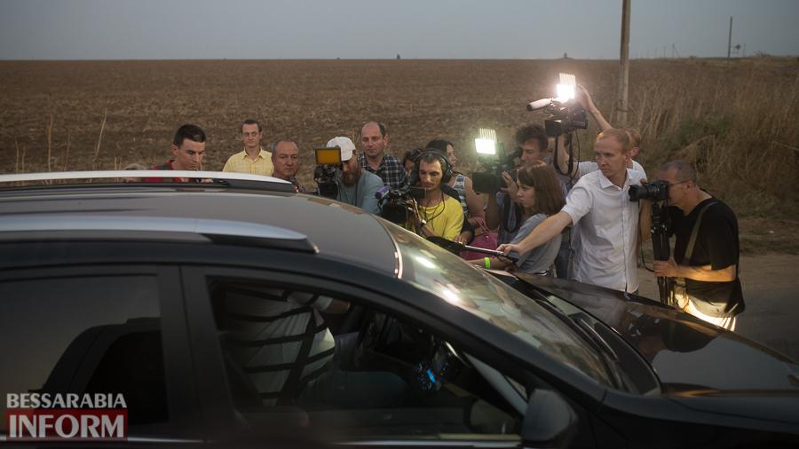 SME_4674 Измаильский р-н: губернатор Саакашвили проехался по свежеотремонтированной дороге на Муравлевку (ФОТО)
