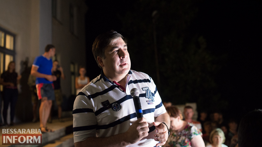 SME_4744 Саакашвили в Лощиновке: полицейских проверят на причастность к покрывательству преступлений (ФОТО)
