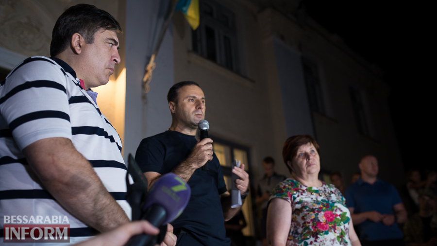 SME_4771 Саакашвили в Лощиновке: полицейских проверят на причастность к покрывательству преступлений (ФОТО)