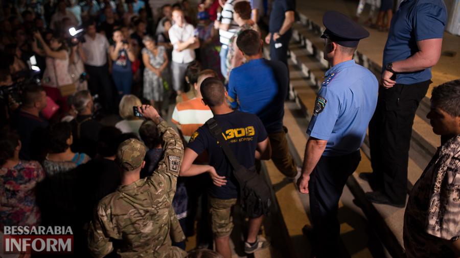 SME_4809 Саакашвили в Лощиновке: полицейских проверят на причастность к покрывательству преступлений (ФОТО)