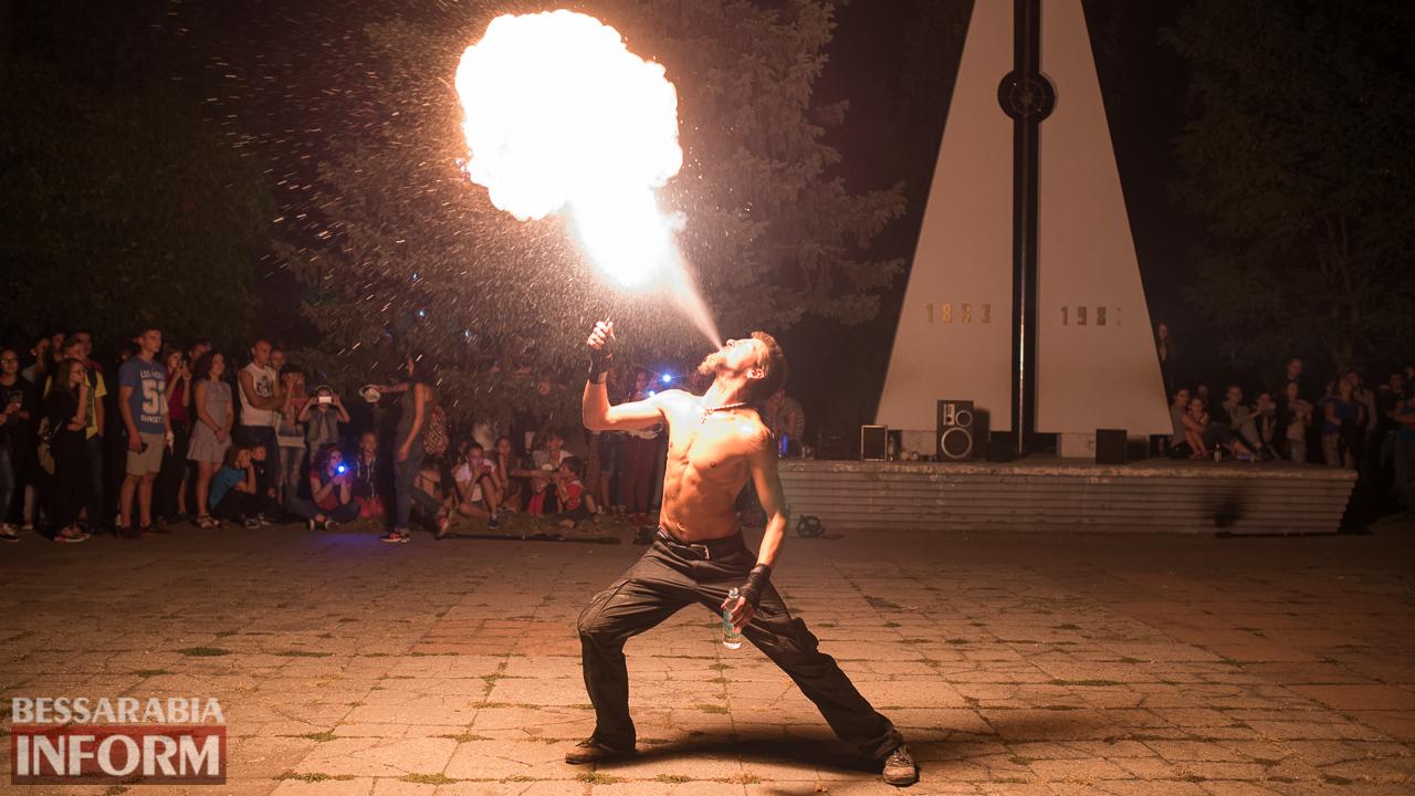 SME_5731 ФОТОРЕПОРТАЖ: зрелищное фаер-шоу прошло в Измаиле на набережной