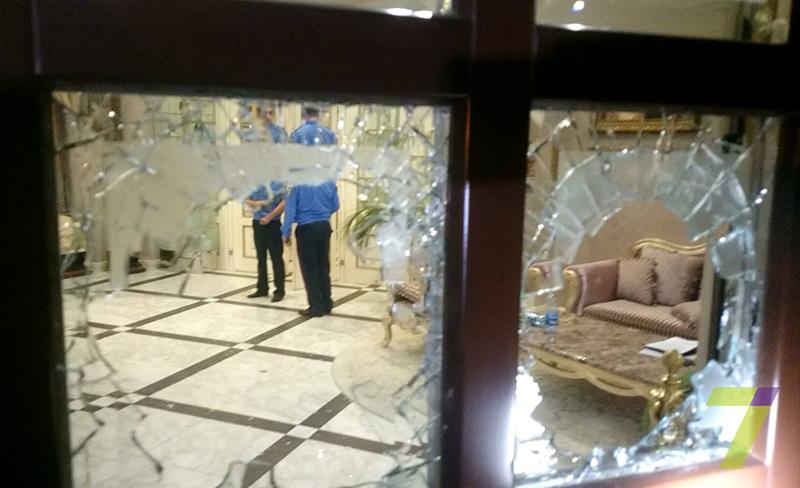 Ночью в одной из гостиниц Одессы произошел вооруженный конфликт