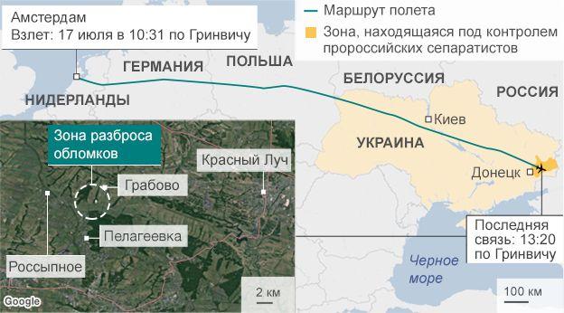 Следствие по МН17 подтвердило причастность России к катастрофе