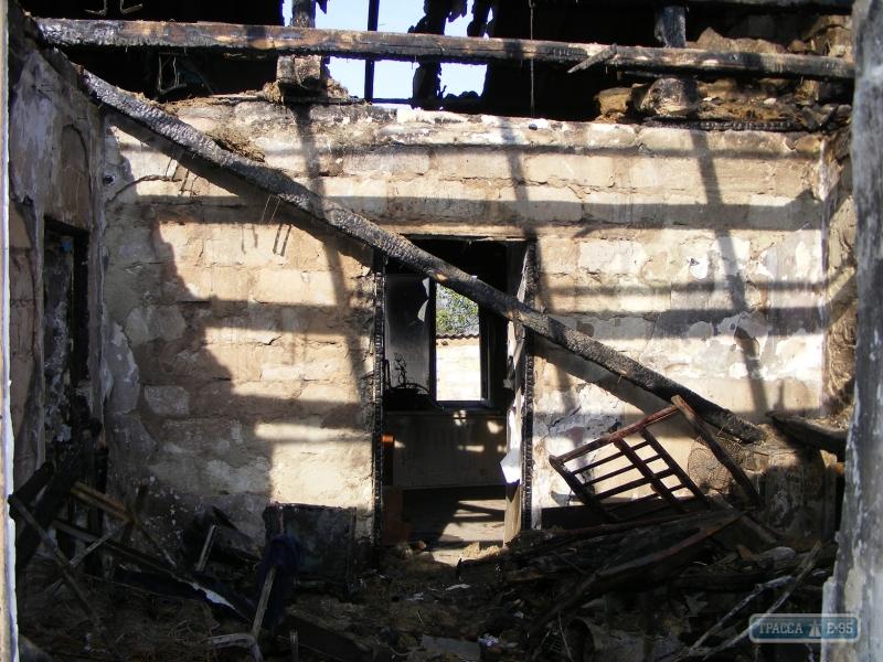 Одесская область: мужчина спас четырех соседских детей из горящего дома
