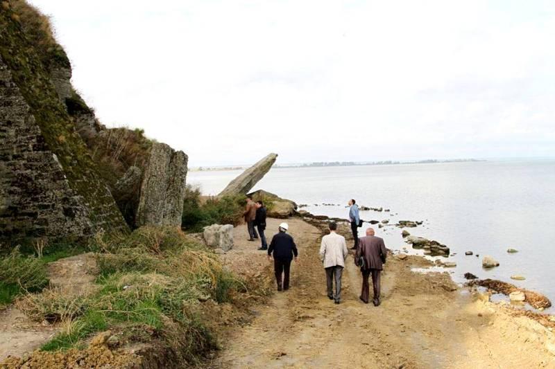 Работы по укреплению северной стены Аккерманской крепости идут полным ходом (ФОТО)