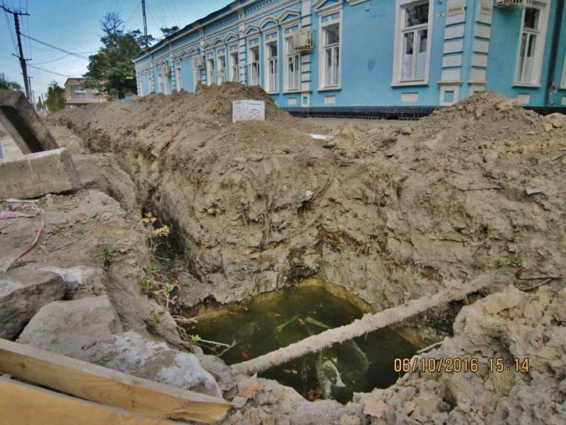 14581329_335195883500872_2378252532286598017_n Килия: во время реконструкции водопровода найдены ценные археологические артефакты (ФОТО)