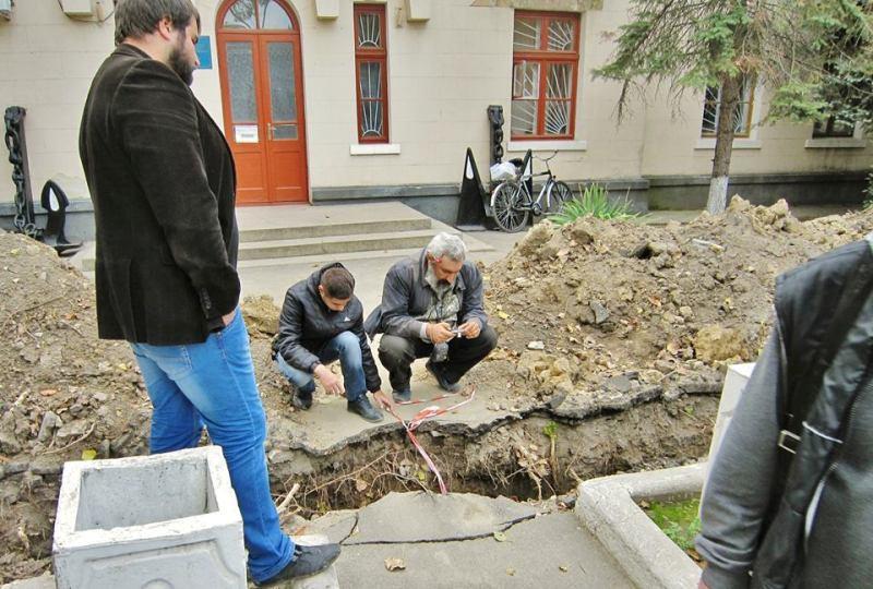 14606450_335196933500767_7030103811376047718_n Килия: во время реконструкции водопровода найдены ценные археологические артефакты (ФОТО)