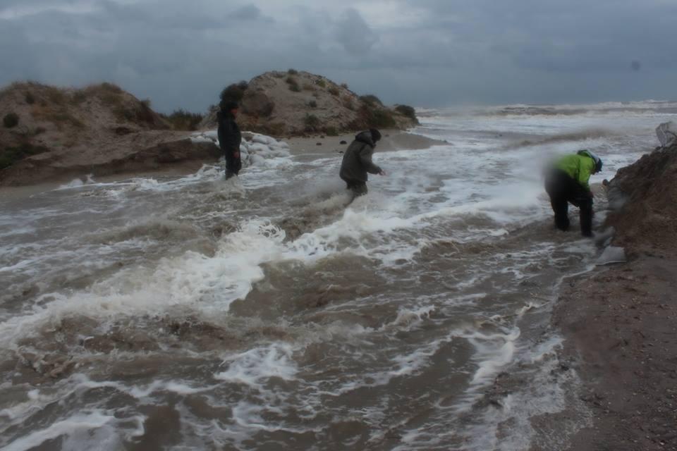 14680681_601980566654706_465954509095302259_n Природу не обманешь: шторм соединил Черное море и Тузловские лиманы (фото)