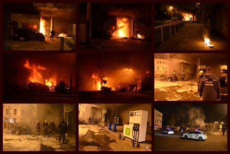 14702456_1124243747664059_1777722122365968026_n В центре Одессы «БМВ» врезался в автозаправочную станцию и взорвался (фото, видео)