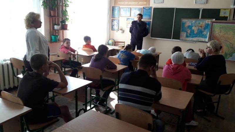 20161006_150400 Килия: полицейские побывали в гостях у воспитанников школы-интерната (ФОТО)