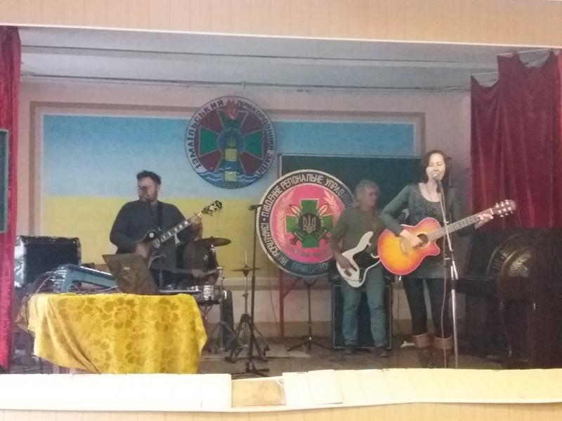 В Измаильском погранотряде  прошел концерт по случаю Дня защитника Украины (ФОТО)