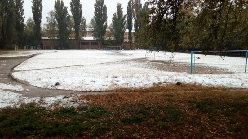 24210791 На севере Одесской области выпал снег (фотофакт)