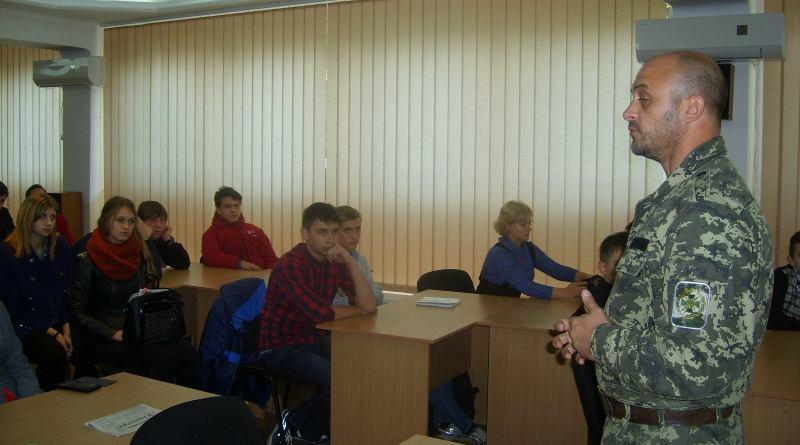ATO-IGGU В ИГГУ состоялась встреча студентов с воинами АТО