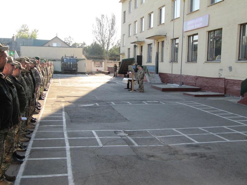 IMG_0233 В Измаильском погранотряде началась демобилизация шестой волны (ФОТО)