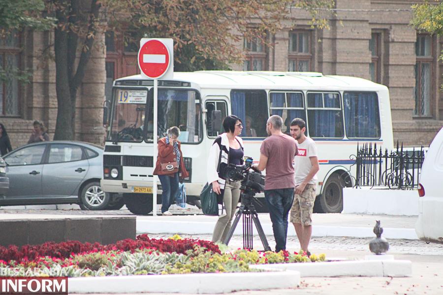 """В Измаиле проходят съемки ТВ-шоу """"Міняю жінку"""" (ФОТО)"""