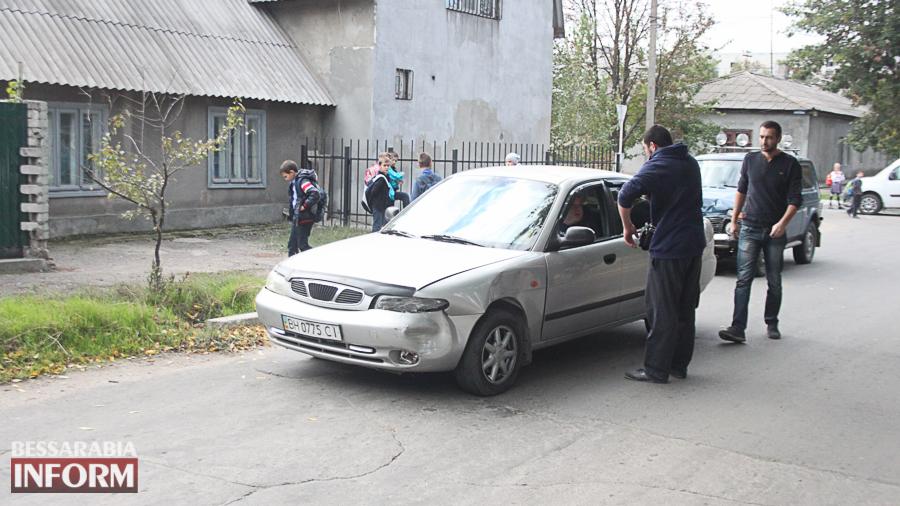 IMG_2896 В Измаиле произошло ДТП с участие трех автомобилей (фото)