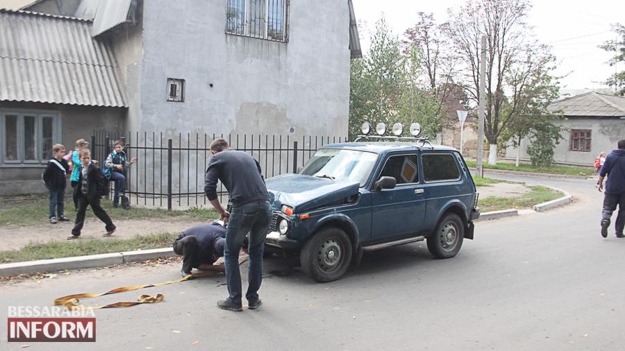 IMG_2898 В Измаиле произошло ДТП с участие трех автомобилей (фото)