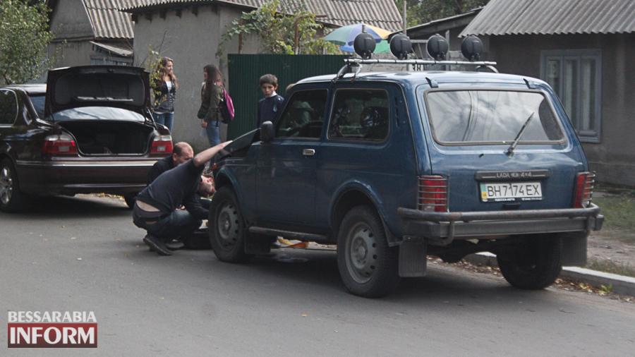IMG_2907 В Измаиле произошло ДТП с участие трех автомобилей (фото)