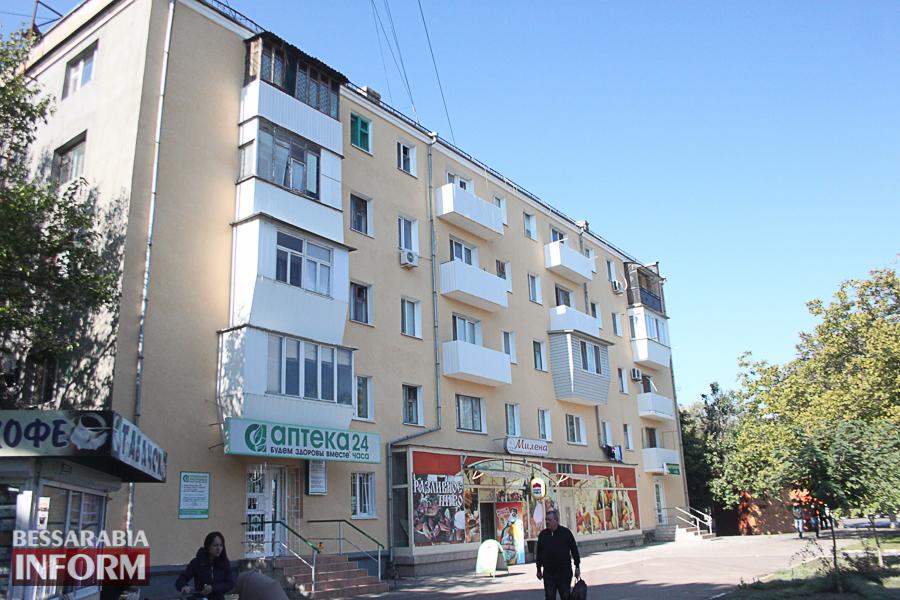 IMG_3383 Ремонт жилого фонда в Измаиле: многоэтажки утепляют минватой и красят в пастельные тона (ФОТО)
