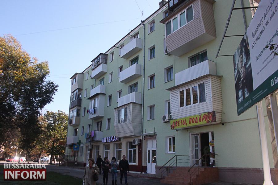 IMG_3385 Ремонт жилого фонда в Измаиле: многоэтажки утепляют минватой и красят в пастельные тона (ФОТО)