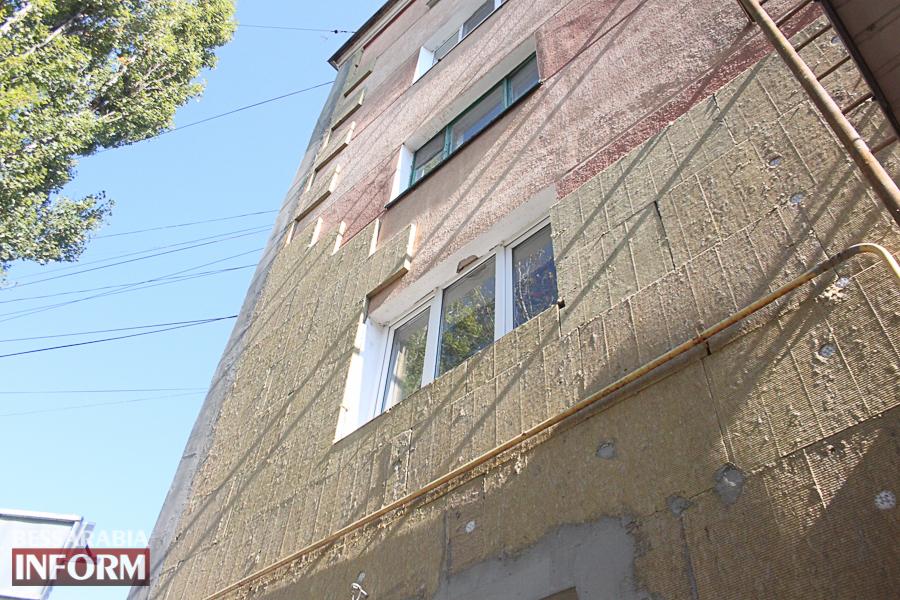 IMG_3393 Ремонт жилого фонда в Измаиле: многоэтажки утепляют минватой и красят в пастельные тона (ФОТО)