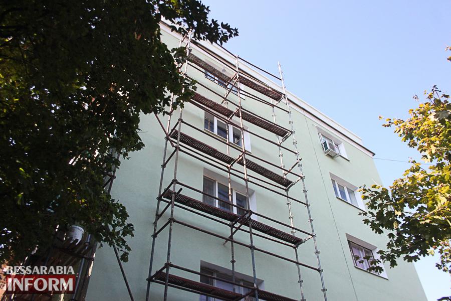 IMG_3410 Ремонт жилого фонда в Измаиле: многоэтажки утепляют минватой и красят в пастельные тона (ФОТО)
