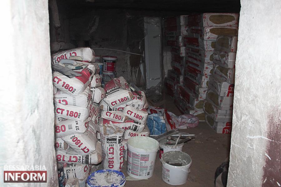 Измаил: неизвестные украли стройматериалы и инструмент для ремонта фасадов многоэтажек (ФОТО)
