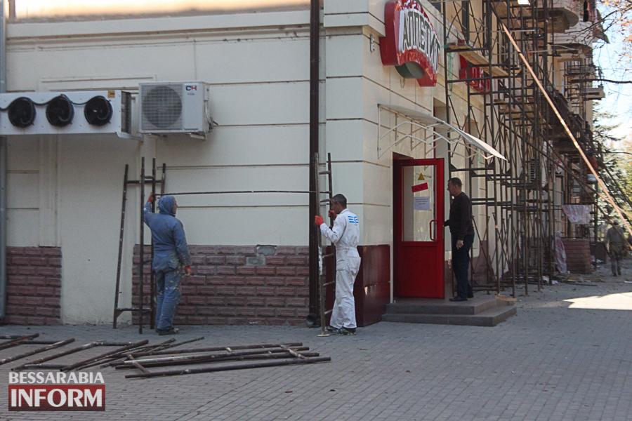IMG_3464 Ремонт жилого фонда в Измаиле: многоэтажки утепляют минватой и красят в пастельные тона (ФОТО)